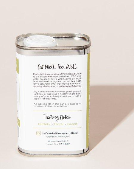 Potli Hemp Infused Extra Virgin Olive Oil