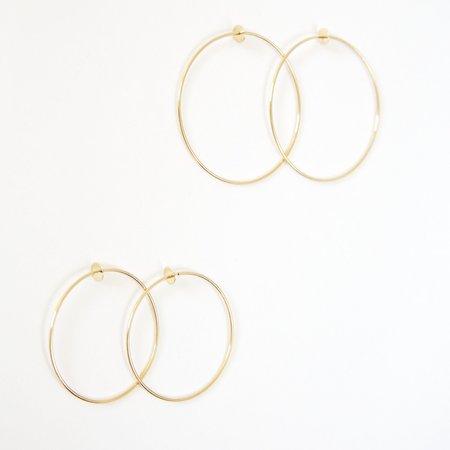 Carrie Hoffman Disc Hoop Earrings