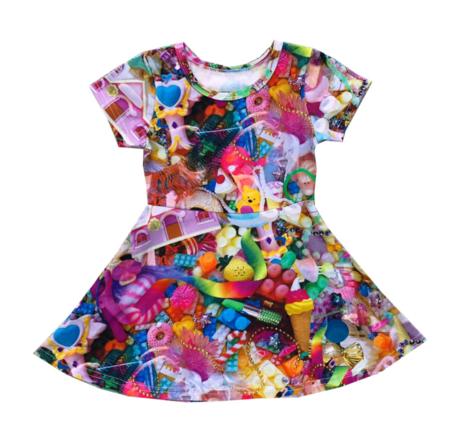 Kids Romey Loves Lulu Toys Skater Dress