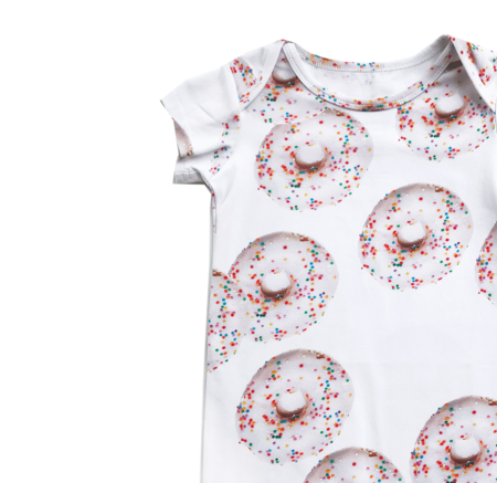 Kids Romey Loves Lulu Donuts Short Romper