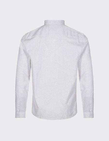 Minimum Jay 2.0 Shirt - White Metal Grey