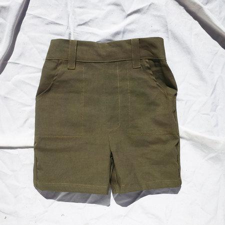 Kids Kiboro Play Hard Shorts - Green