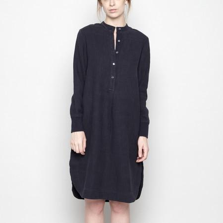 7115 by Szeki Fall Jumper Dress - Linen - Navy FW16