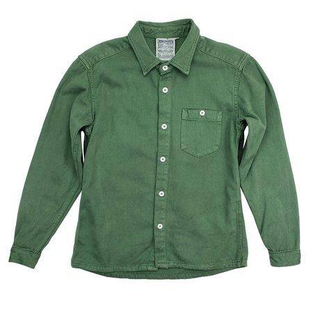 Jungmaven Topanga Shirt - Spruce Green