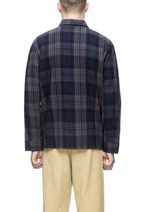 Men's Our Legacy Box Shirt Dark Tartan
