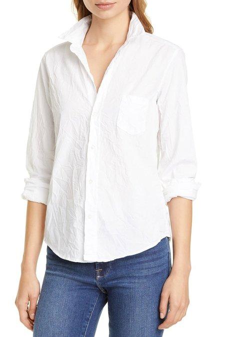 Frank & Eileen Barry Poplin Button Down shirt - White