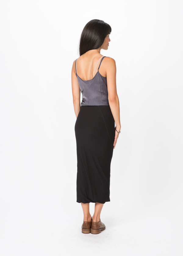 Organic by John Patrick Long Viscose Skirt