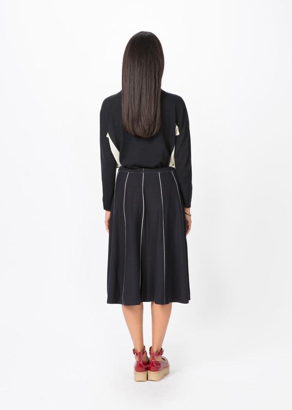 Yoshi Kondo Dice Knit Skirt