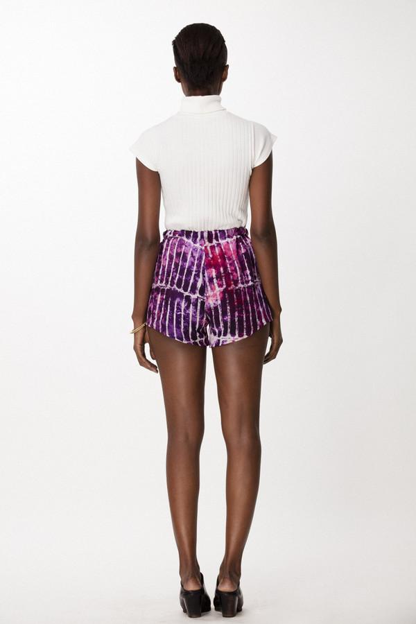 Osei-Duro Dash Shorts in Fuchsia Chalk