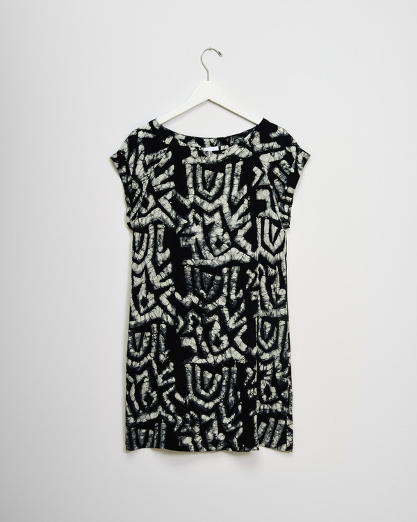 Osei-Duro Deni Raglan Dress in Labyrinth