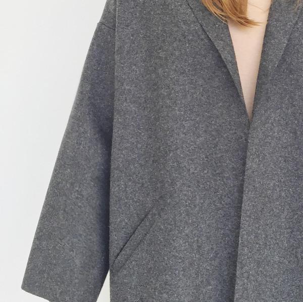 ARE Studio - Charcoal Angle Coat