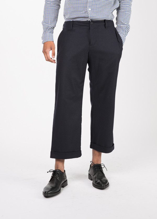 Men's You Must Create Cropped Wide Leg Trouser