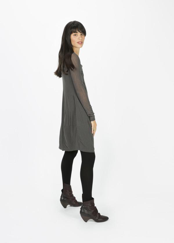 Rundholz BL Wool Front Panel Dress