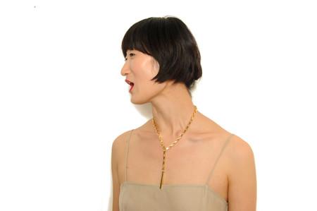 PAR ICI Drop Chain Necklace