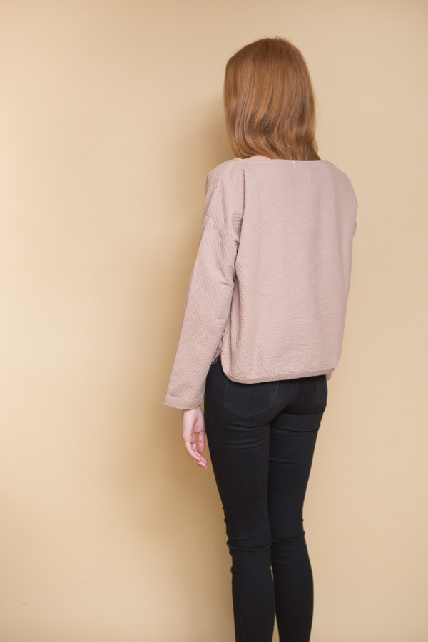Atelier Delphine Sunday Pullover - Mauve Taupe