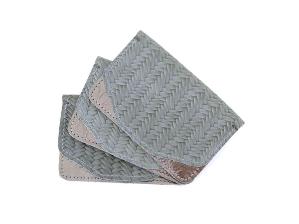 Shana Luther - Mini Wallet Gray & Silver