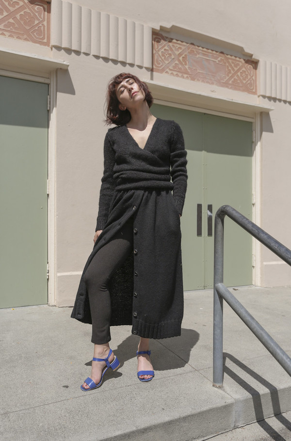 A Détacher Celina Skirt in Black