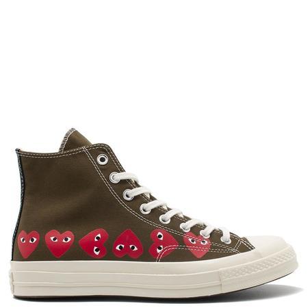 Converse x COMME des GARÇONS PLAY Chuck Taylor Hi sneakers - brown
