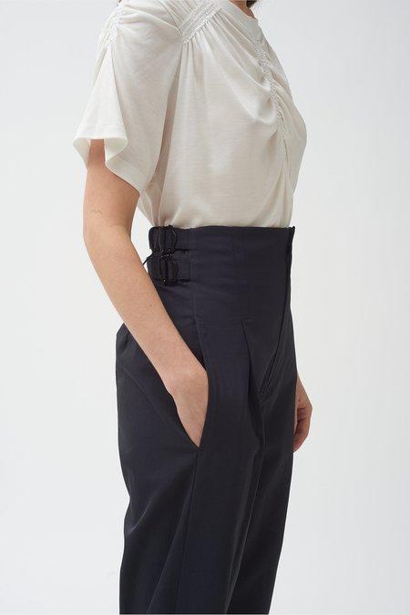 Colovos Buckle Pant - Black
