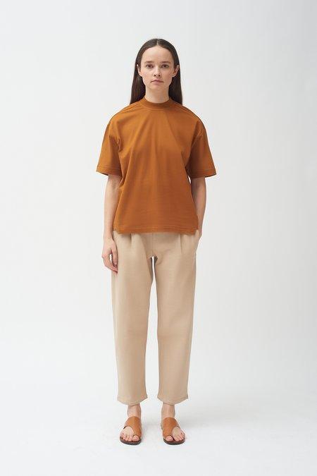 Colovos Copper Mock neck T-shirt - Copper