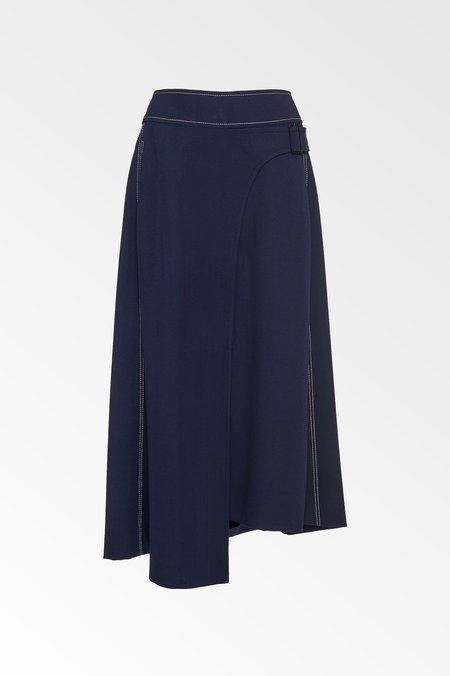 Colovos x Woolmark Side Buckle Skirt