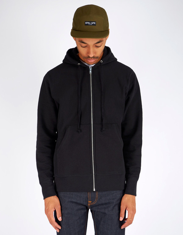 Men's Still Life Zip Hoodie Black