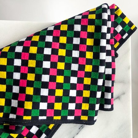 [Pre-loved] Duro Olowu Knit Scarf - Neon