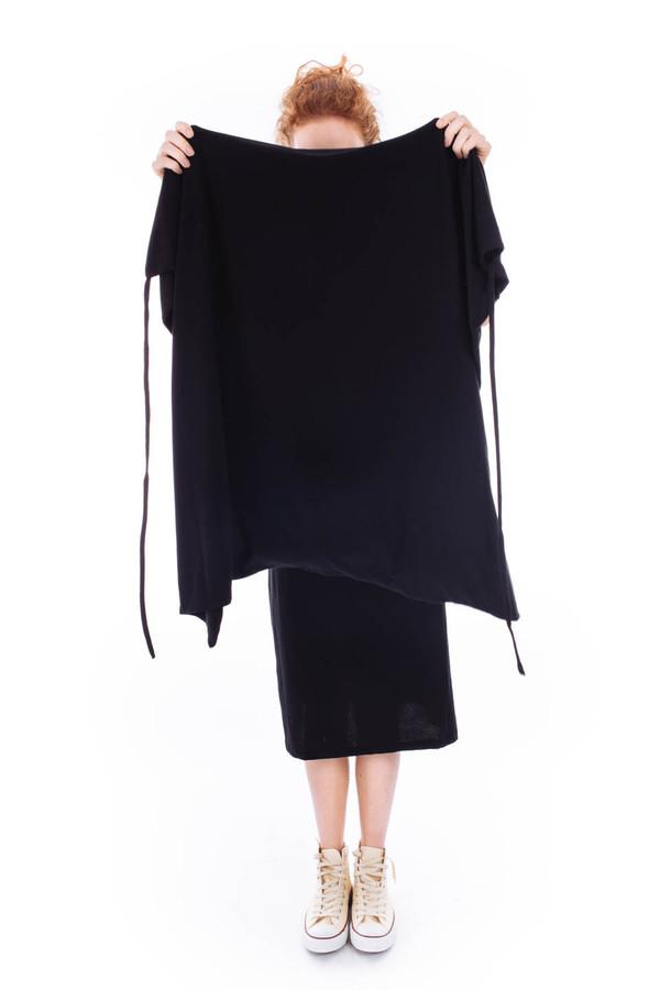Kowtow Building Block Envelope Dress (Black)