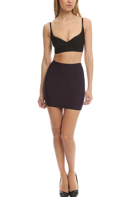 Herve Leroux Mai Skirt - Purple
