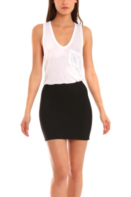 Herve Leroux Mai Skirt - Black