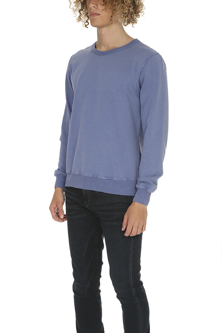 Crossley Ulind Crewneck Fleece Sweater - Blue