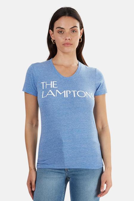 Blue&Cream Lamptons Crewneck T-Shirt - Blue/White