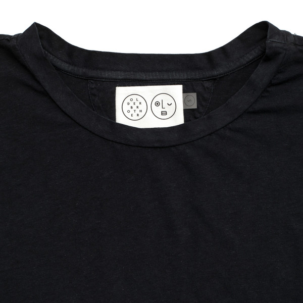 Olderbrother Anti-fit Tee - Black Indigo