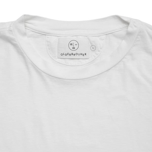Olderbrother Anti-fit Tee - White