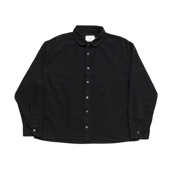 Olderbrother Forty-Five Shirt - Black Indigo