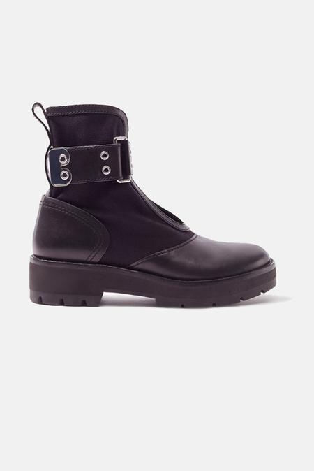 3.1 Phillip Lim Cat Combat Boot Shoes - Black