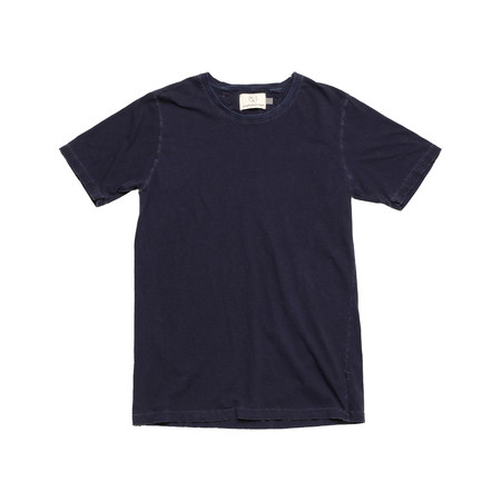 Olderbrother Hand Me Down - OB Tee - Dark Indigo