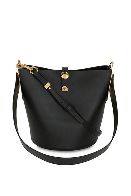 Sophie Hulme Alwyne Bucket Bag - Black