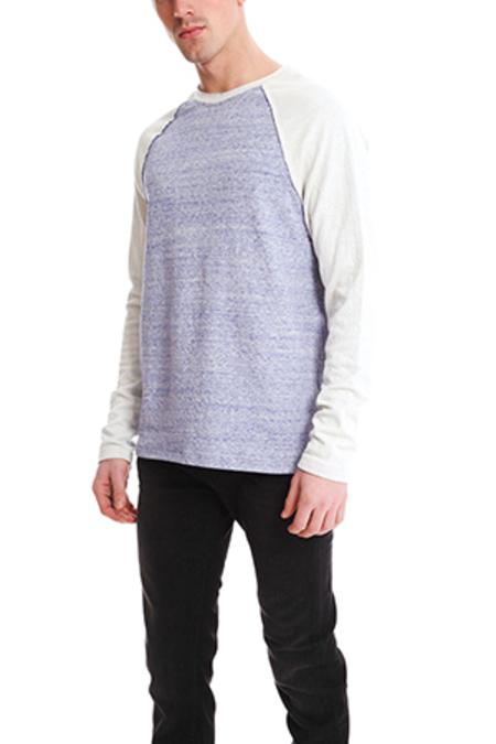Blue&Cream Bowery Raglan Sweater - Lavender Combo