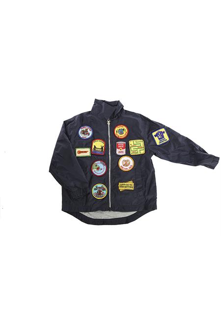 kids Cashy's Bubbe Custom Jacket - Navy