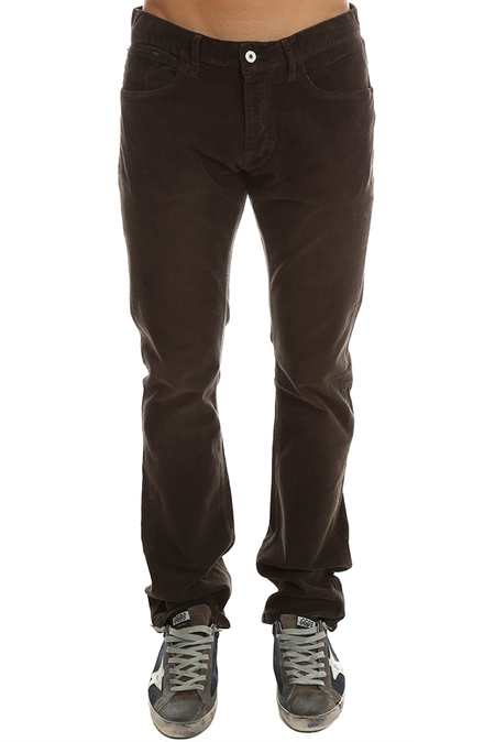 Loomstate Revival Cord Pant - Walnut