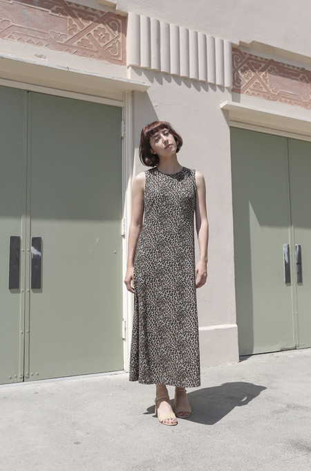SVILU Swann Dress in Leopard