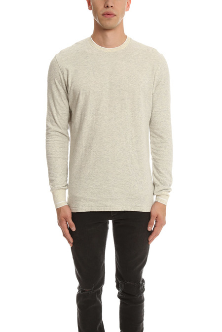 Shuttle Notes Rojer LS Sweater - grey