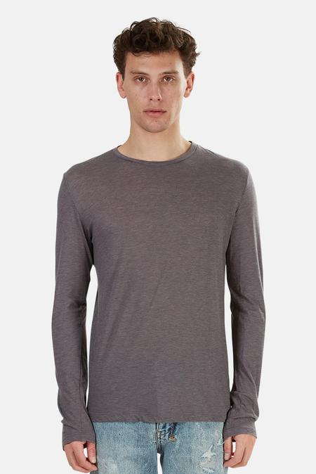 Blue&Cream 66 LS T-Shirt - Charcoal