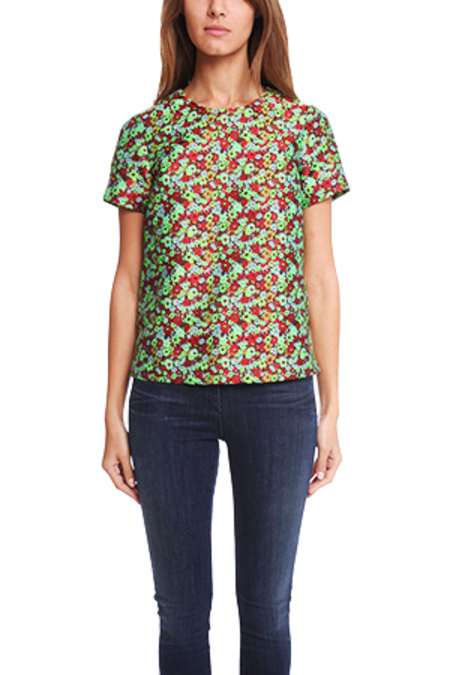 Elizabeth and James Shell Top - Multi