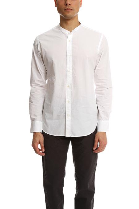 Officine Generale Gaspard Poplin Shirt - White
