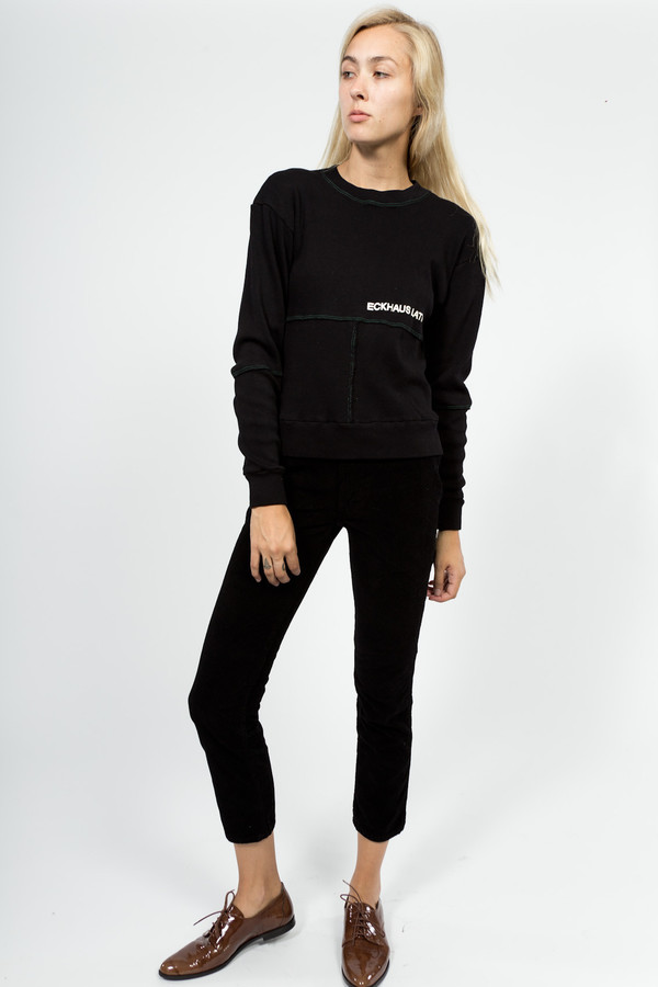 Eckhaus Latta Lapped Sweatshirt
