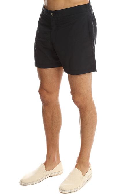 Officine Generale Roman Swim Short Swimwear - Black