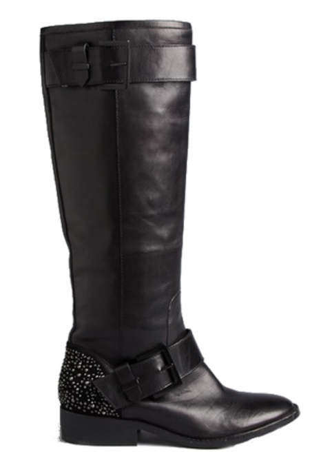 B Brian Atwood Dita Tall Boot Shoes - Black