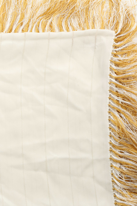 3.1 Phillip Lim Wrap Around Scarf - antique White